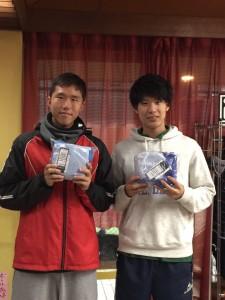 準優勝 上野・大垣(フリー)