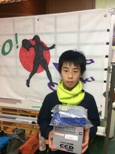 準優勝 田川 翔太